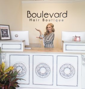 welcome to boulevard hair boutique