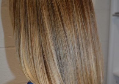 Traditional Highlights, Balayage & Cut